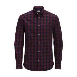 J&J PLUS camicia quadri gingham