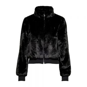 ONLY bomber faux fur