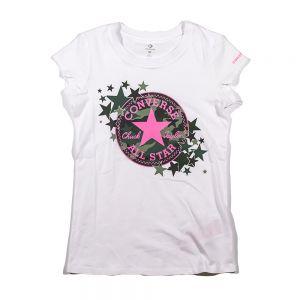 CONVERSE t-shirt chuck patch camo