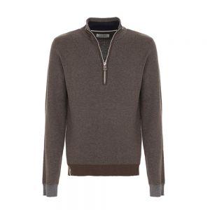 FRED MELLO maglione mezza zip
