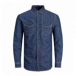 JACK JONES camicia denim fox