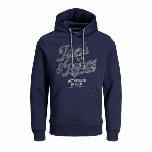 JACK JONES felpa capp. jack print