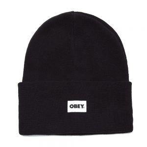 OBEY berretto bold label