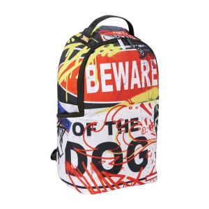 SPRAYGROUND zaino beware of the dog