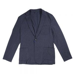 TRUSSARDI JEANS giacca slim jersey