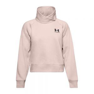 UNDER ARMOUR felpa rival wrap neck po