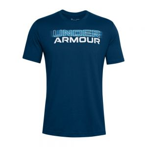 UNDER ARMOUR t-shirt blurry logo wordmark