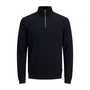 JACK JONES maglione mezzazip basic