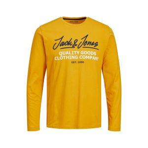 JACK JONES maglia m/l herro