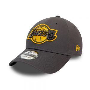 NEW ERA cappello gray pop 39thirty lakers