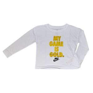 NIKE maglia my game is gold