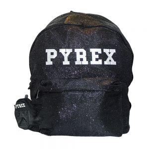 PYREX zaino tessuto lurex
