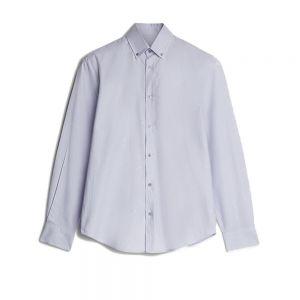 TRUSSARDI camicia oxford close